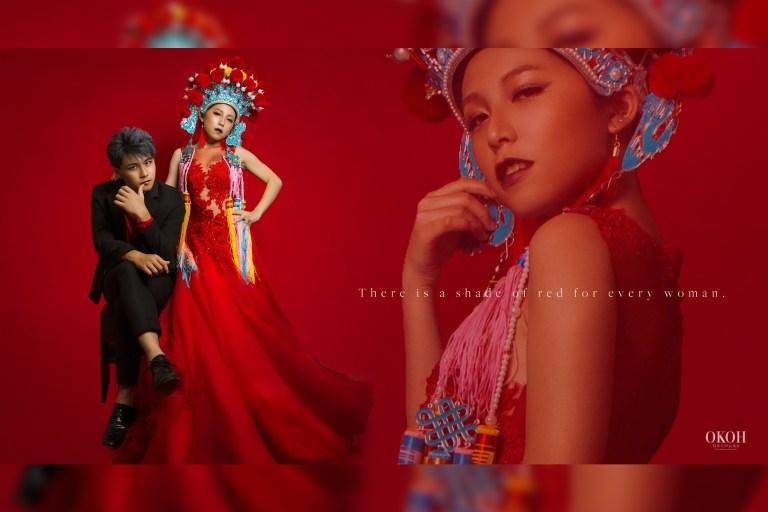 中式婚紗禮服攝影-婚紗禮服攝影