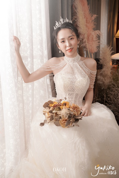 由紀子,OKOH輕時尚婚紗,土城婚紗店