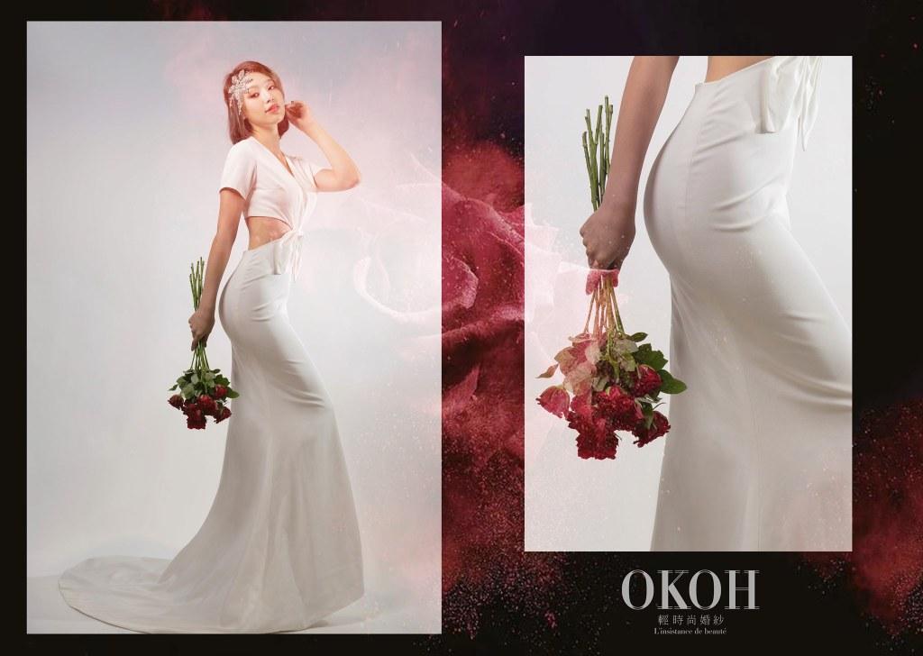 OKOH輕時尚婚紗,新北婚紗禮服出租,婚紗禮服出租,新北婚紗禮服